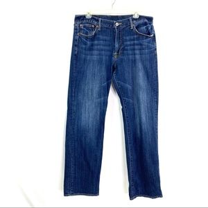 Lucky Brand Mens Straight Jeans  Sz 34 X 33